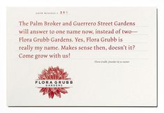 FGrubb_Postcard4 #design #graphic #identity