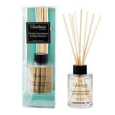 Mini Fragrant Reed Diffuser Gooseberry & Peach, 65ml