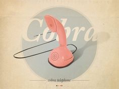 Hyperbear.be//v.2b #muted #graphic #photography #colors #telephone #cobra #typography
