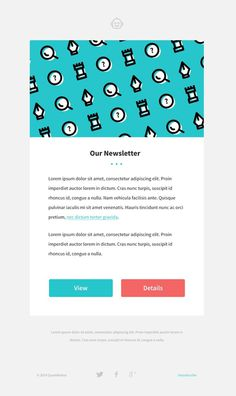 Newsletter frow https://dribbble.com/shots/1518379-Newsletter