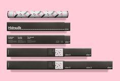 Hidraulik by Huaman #print #graphic design #packaging #box