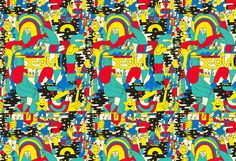 X-GIRL 2014 | Mike Perry Studio #pattern