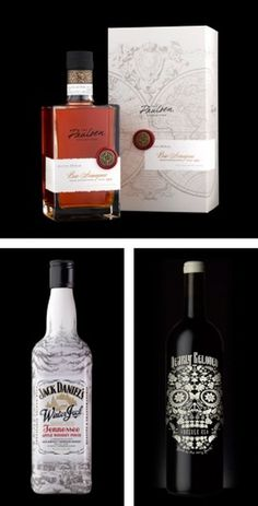 The Inspiration Grid : Design Inspiration, Illustration, Typography, Photography, Art, Architecture & More #bottle #packaging #design #liquor #map #compass