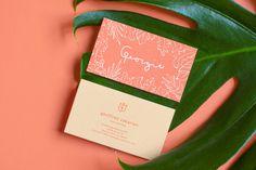Georgie Restaurant Branding by Sandy Ley #businesscard #restaurant