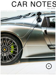 EDITION29 CAR NOTES 003 for iPad #ipad #design #918 #rsr #porsche