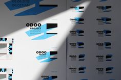 Odooproject Identity on the Behance Network #logo