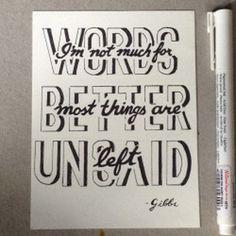 #typography inspirational quote