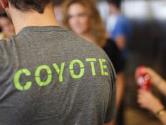 New Logo and Branding: Coyote #shirt
