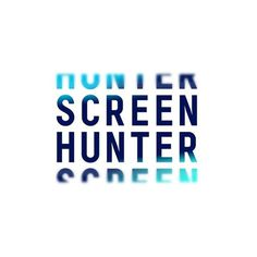 Screen Hunter #branding #design #graphic #identity #newcastle #logo #shorthand #brandmark #typography