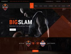 Big Slam – Basketball WordPress Theme