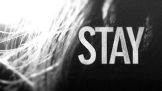 stay #hair #photography #desaturate #typography