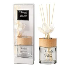Fragrant Solar Flower Diffuser Fresh Cotton & Lavender, 80 ml