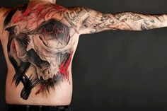 40 Mind Blow Abstract Tattoos