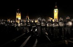 London tuition fee protest - The Big Picture - Boston.com #photography
