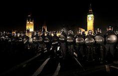 London tuition fee protest - The Big Picture - Boston.com