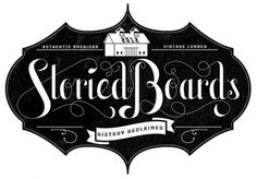 Storied Boards - Neil Tasker - Hand Lettering and Design #logo #typography