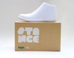 Stance Packaging, by Spencer Wyatt #inspiration #creative #shoes #packaging #design #graphic #sneakers
