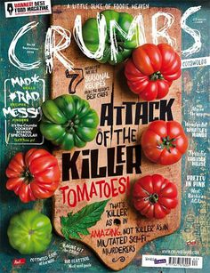 Crumbs (UK) #cover #food #photography #type