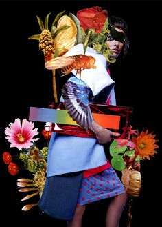 Ashkan Honarvar | PICDIT #fashion #art #collage #portrait