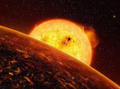 Buamai - ESO divulga imagem do menor e mais r�pido exoplaneta conhecido - #sunspot #sun #space
