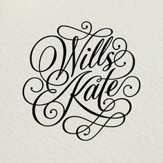 Rob Clarke Typography #logo #royal #wedding