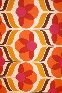 #mod #floral #retro #pattern