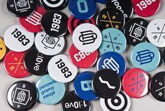 Odrzańska Bryza Football Team Corporate identity on Behance #graphic #geometric #monogram #identity #pins