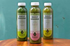 Daily Greens by Karl Hebert #packaging #greens #daily
