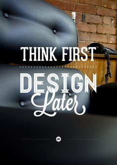 383 Studio Posters on the Behance Network #quote #typography