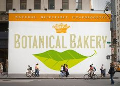 Botanical Bakery | Identity Designed #botanical #bakery #design #color #brier #david #package #typography