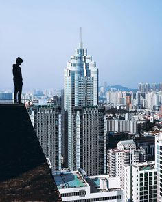 Incredible Rooftop Photography of Shenzhen by Ivan Sidorenko