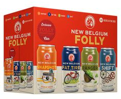New Belgium Folly #packaging #beer