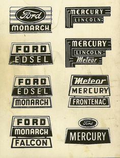 Ford #signs