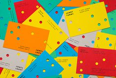 Jammy Yummy by Hey #business card #colourful