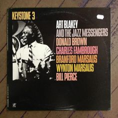 Art Blakey Keystone 3, Album Cover Typography | Typophonic #type