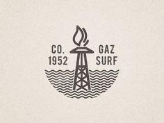Gaz Surf logo #logo #vector #gas #branding