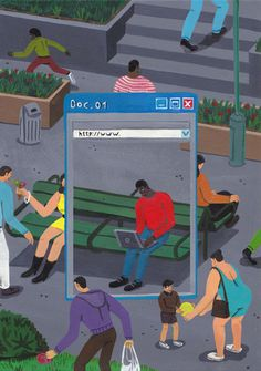 Brecht Vandenbroucke #illustration #painting