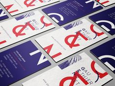 GAUTHIER & NOLET ARCHITECTS on Behance #architects #layout #type #print