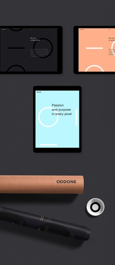 Oddone: Brand Identity and Website on Behance