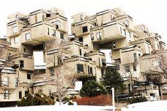 Amina Qureshi | Gold Leaf: Architecture: Habitat 67 #habitat 67