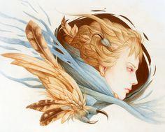 Harbinger Art Print #illustration #society #6