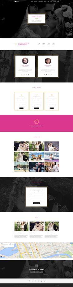 H-Code #Responsive & #Multipurpose #OnePage and #MultiPage #WordPress #Theme For #Wedding by #ThemeZaa http://goo.gl/9PuaA7