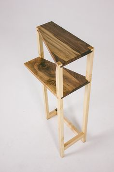 stack Stairs Fly Massive Millworks #fly #massive #millworks #wood #furniture #interior #walnut #maple #woodworking #modernism
