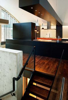 Standing Elements #interior #kitchen #minimal #modern