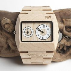 Fancy Jupiter Beige Watch by WeWood #gift #wood #watch