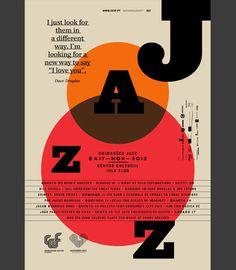 Martino & Jaña: Guimarães Jazz 2012 #graphic design #jazz