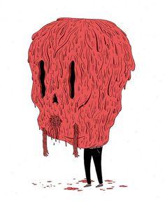 Artist illustrator Luke Pearson