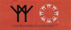 Behind the Expo 67 Logo #expo #world #design #fair #1960s #67 #logo #midcentury