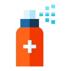 See more icon inspiration related to spray, healthcare and medical, antiseptic, bottle, medicine, heal and medical on Flaticon.