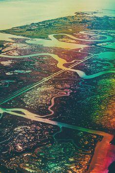 Vein #landscape #rainbow